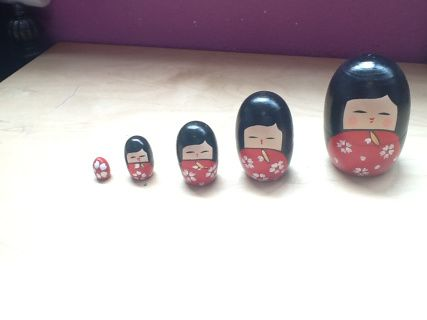 Who knew Matryoshka dolls are not only Russian, there's also a Japanese version. Found it in Little Tokyo