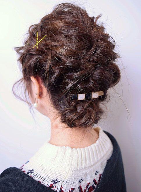 パーティーヘア☆ルーズフェミニンアップ【ZEST bis】  ≪ #arrange #hairstyle #アレンジ #ヘアスタイル #髪形 #髪型 #浴衣 #夏 #date #結婚式 #summer≫ http://beautynavi.woman.excite.co.jp/style/detail/53088?pint