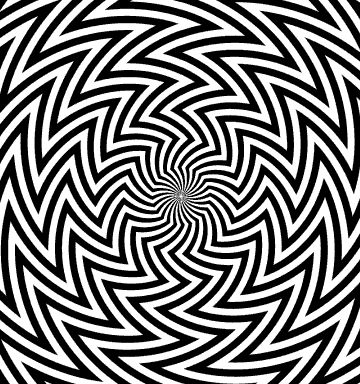 Bridget Riley Op Art | Bridget Riley's Blaze (1964). Zigzaged black and white lines creates ...