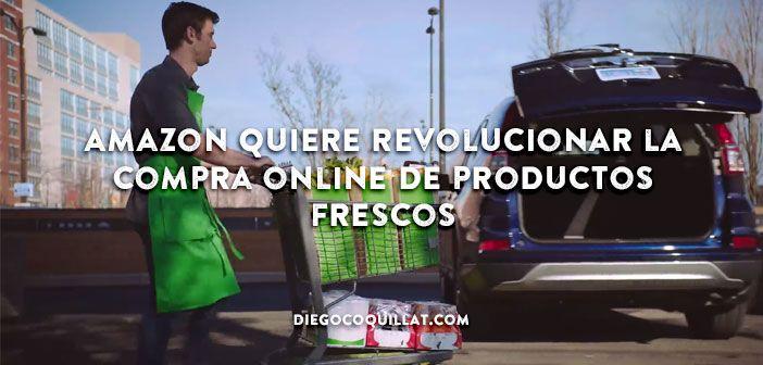 Amazon ha presentado su última innovación, AmazonFresh Pickup, un servicio que te permite comprar alimentos frescos online, y recogerlos en el maletero de tu coche en tan solo unos minutos. #Amazon #AmazonFresh #Compraonline #Delivery #Pedidosonline