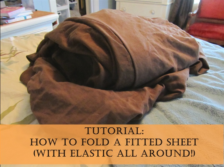 A Blossoming Homestead Folding A Fitted Sheet With