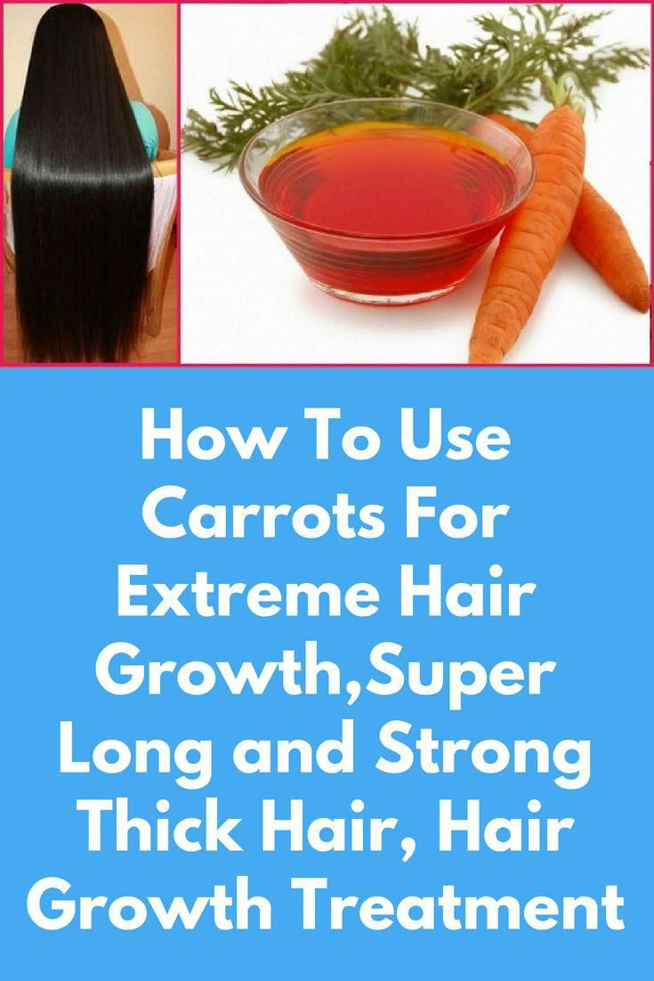 How To Use Carrots For Extreme Hair GrowthSuper Long and Strong