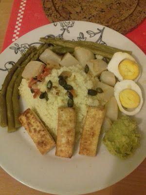 Les trouvailles de Lilona: Ma première recette semi-végétarienne !!!