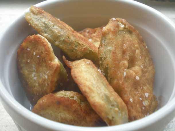 Serious Heat: Okra-Fried Jalapenos | Recipe