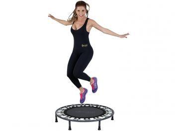 Trampolim/Mini Cama Elástica até 100kg 32 Molas - Dream Fitness Residencial