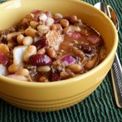 CALICO BEANS (or Three Bean Casserole), Recipe from Cooking.com