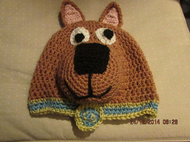 scooby doo hat Christmas 2014 Crochet by me Pinterest ...