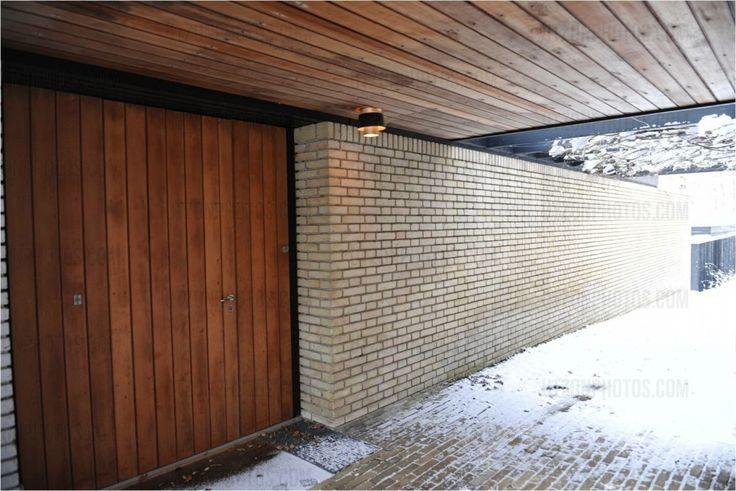Jørn Utzons house » Ladrillo y madera