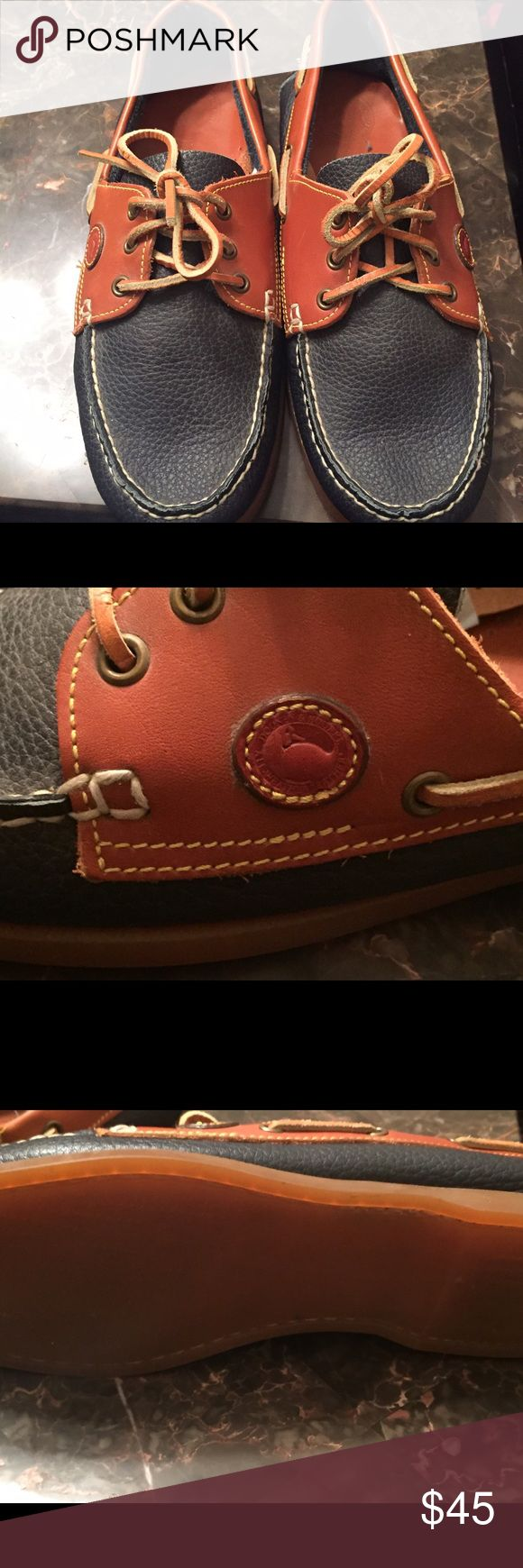Men's dooney and Bourke boat shoes Dooney an Bourke Men's peddled leather Boat shoes size 11 Dooney & Bourke Shoes Boat Shoes