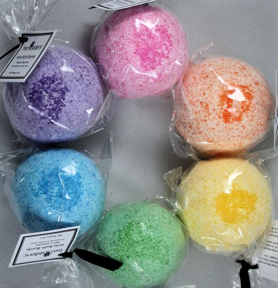 Kids Bath Bombs with Surprises Inside - SHIPS FAST - Rainbow Pack - Select Boy, Girl, or Gender Neutral