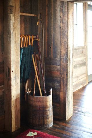 The Party Barn via Garden & Gun / The English Room Blog