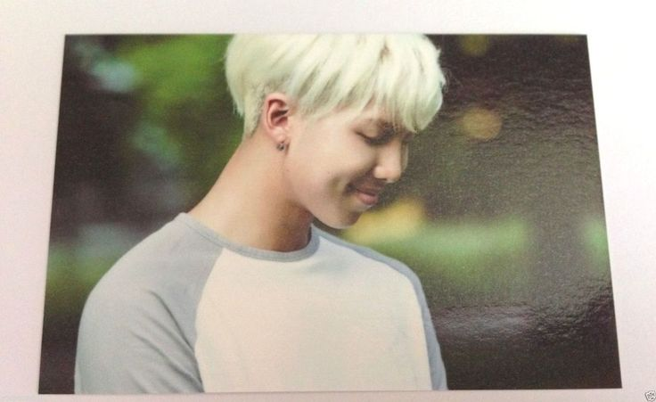 BTS Official MD ZipCode 17520 Rap Monster #5 Photo Card Bangtan Boys 2nd Muster