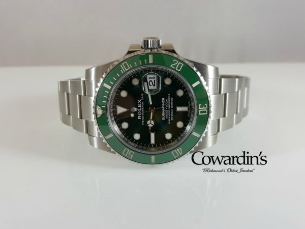 """Watches - Pre-Owned Rolex Green """"HULK"""" Submariner"""