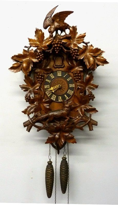 Coo coo clock black forest and forests on pinterest - Coo coo clock pendulum ...