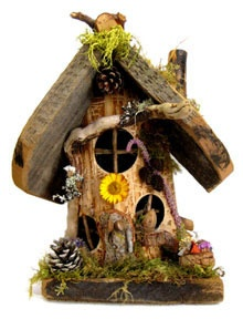 1000 images about whimsical birdhouses on pinterest Wine cork birdhouse instructions
