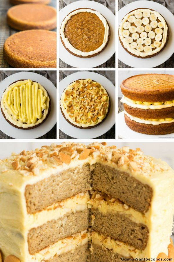How to make a two layer cake with pudding filling