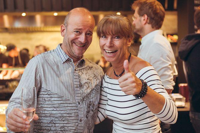 Andy Lee Lang und Claudia Kristofics Binder © Robin Consult Philipp Lipiarski
