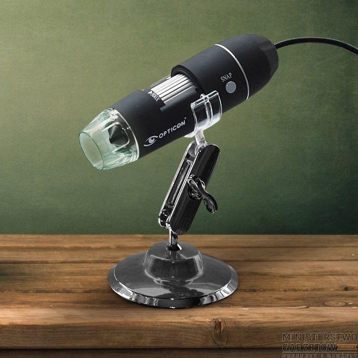 Mikroskop USB DIGEYE 500. Przenośny, kompaktowy mikroskop podłączany do komputera.