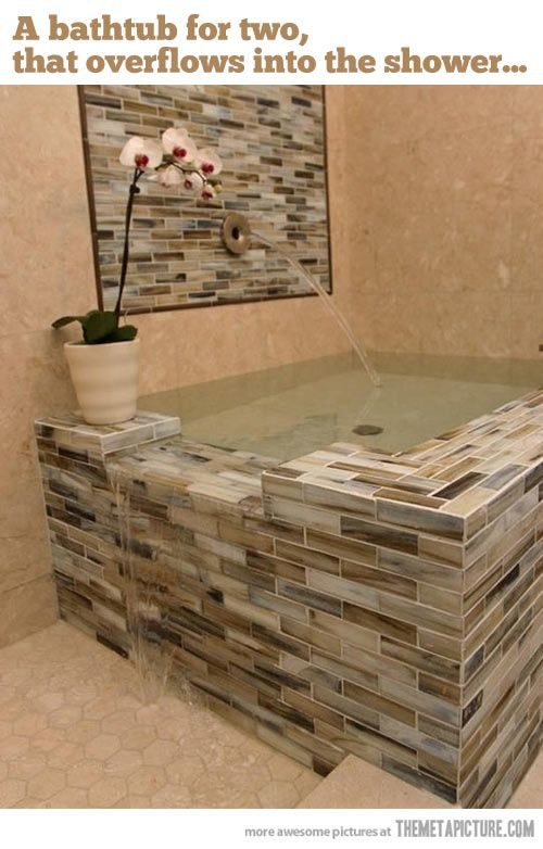 The coolest bathtub
