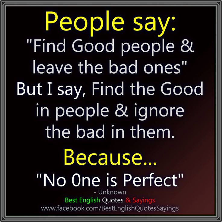 People Say... (from Best English Quotes & Sayings) No
