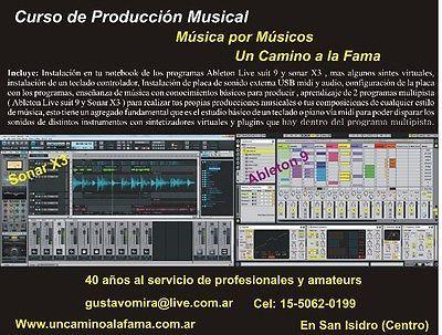 CURSO DE PRODUCCION MUSICAL EN SAN ISIDRO  #Curso, #Produccion, #Musical, #Isidro