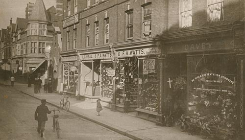 Chapel Road Worthing 1900c