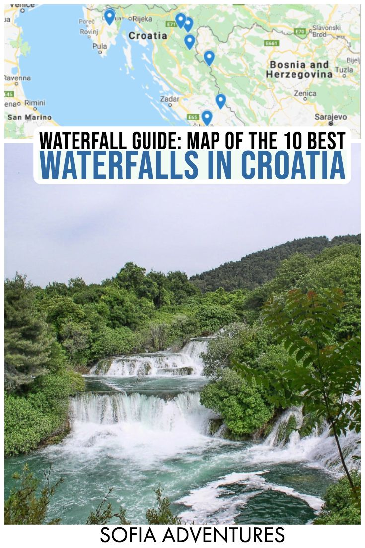 10 Breathtaking Waterfalls In Croatia Sofia Adventures Cool Places To Visit Plitvice National Park Krka National Park