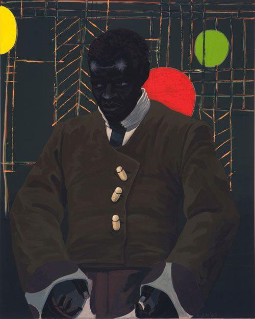Kerry James Marshall http://www.booooooom.com/2011/05/05/artist-painter-kerry-james-marshall/#more-26737
