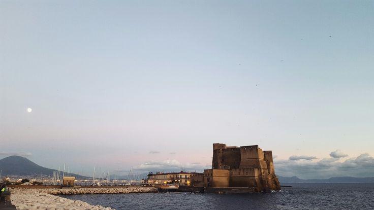 Castle dell'Ovo Neapol - Napoli