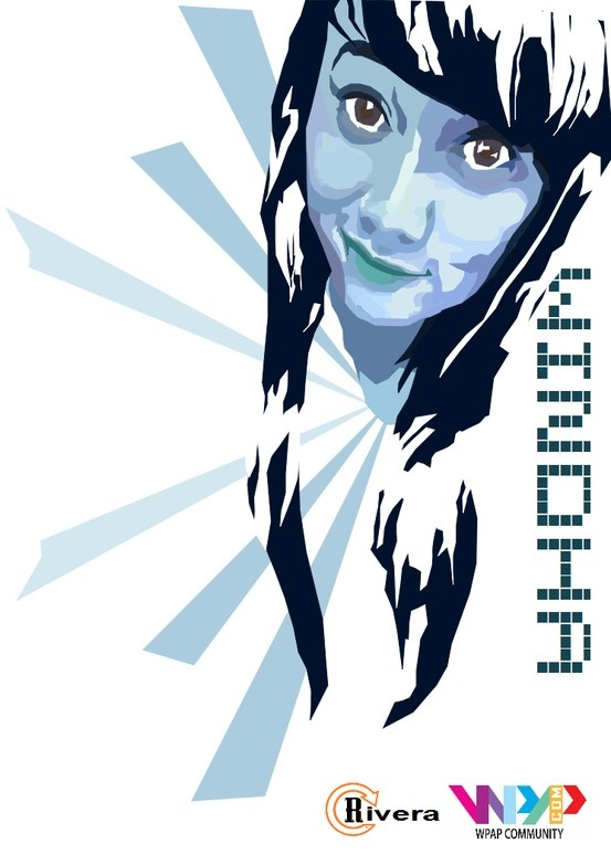 WPAP 4th Project Software : Inkscape Model : @windhaindraa by @Ryan23__