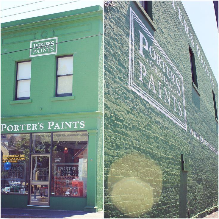 Dealing with different surfaces? Not a problem at all we say! Unite them with colour and celebrate their fabulous texture. Our model for today, the gorgeous Porter's Paints showroom in Prahran, Melbourne    For more fabulous colours please click through or pop in and we can make you a special custom colour!