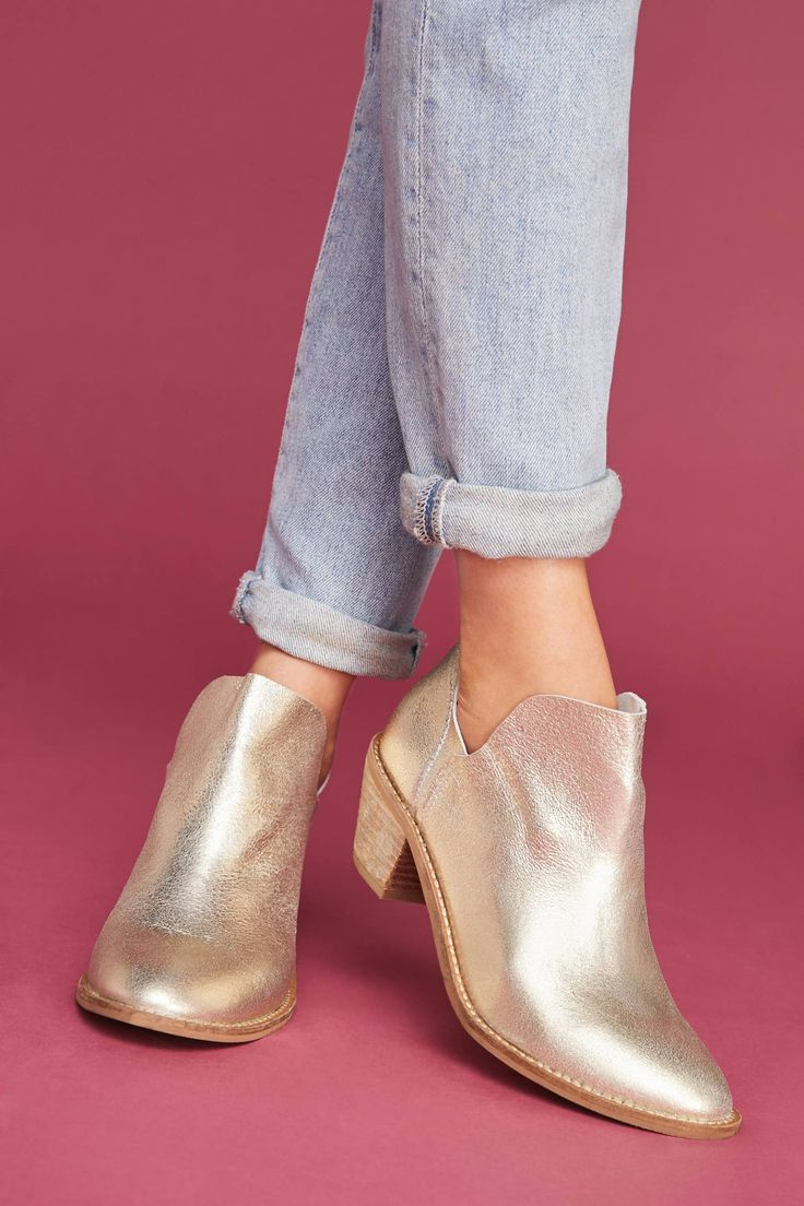 Shop the Kelsi Dagger Brooklyn Kenmare Metallic Booties and more Anthropologie at Anthropologie today. Read customer reviews, discover product details and more.