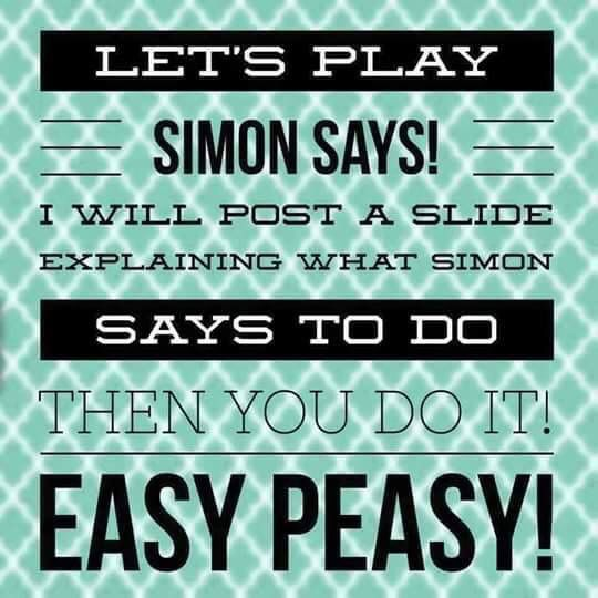 how to play simon says
