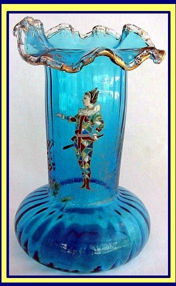 antique glass vases identify - Google zoeken