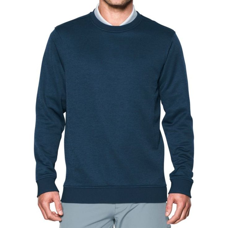 Under Armour Men's Storm Crew Neck Golf Sweater, Size: Medium, Academy
