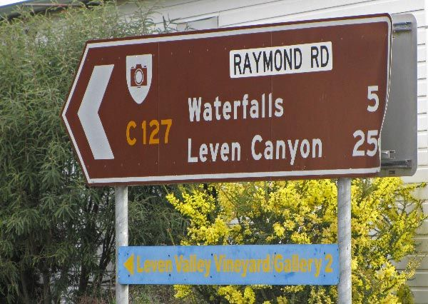 Raymond Road to Preston Falls (Gunns Plains) and Leven Canyon. Article for Think Tasmania.