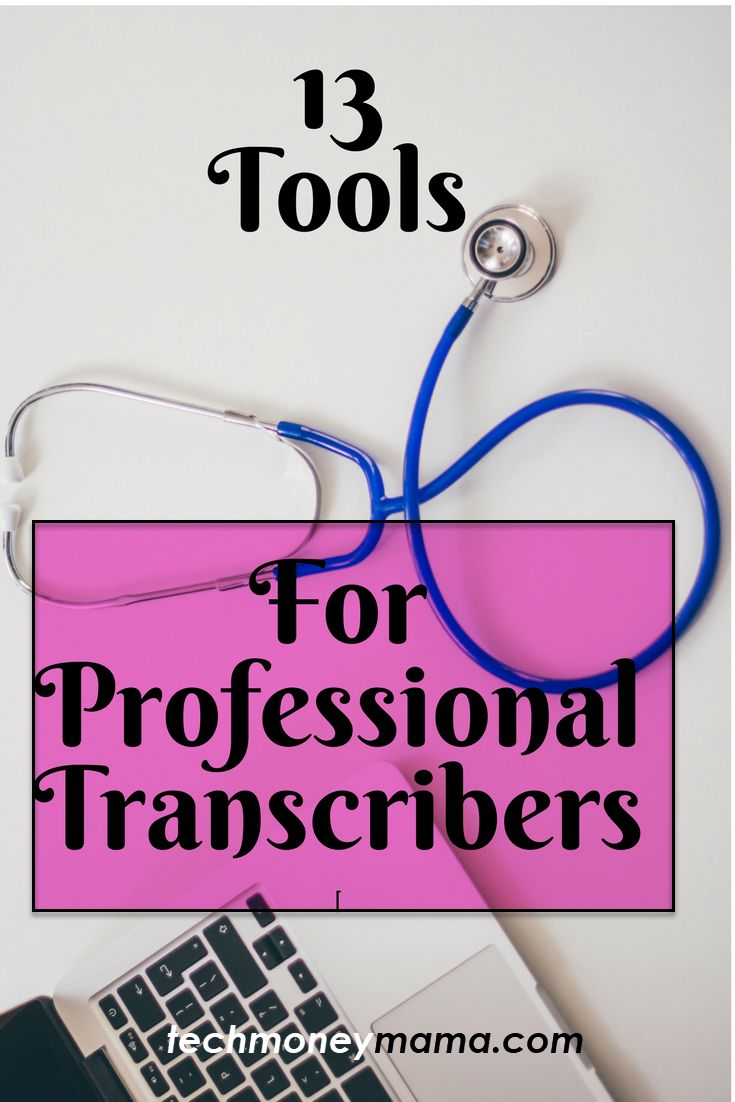 13 transcription tools for professional transcribers