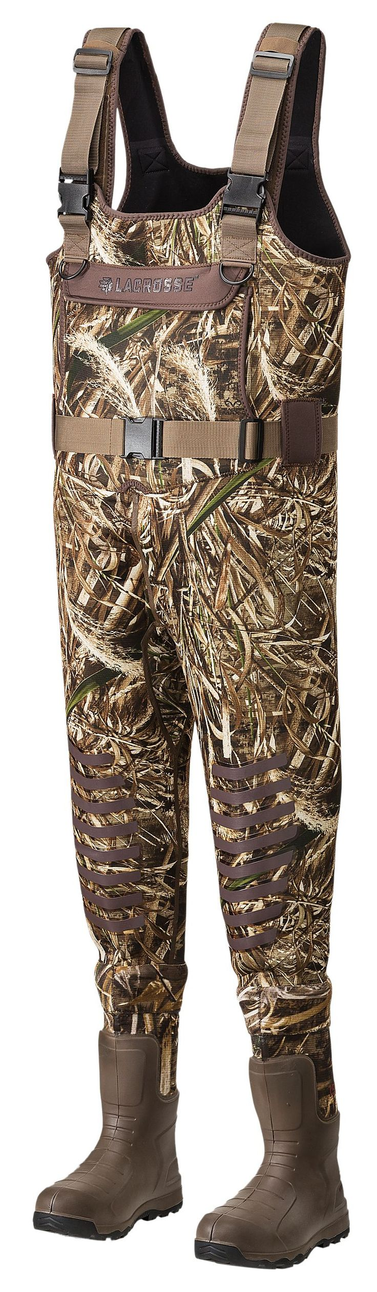 LaCrosse AeroTuff Insulated Boot-Foot Waders for Men - Realtree MAX-5 | Bass Pro Shops--size 10