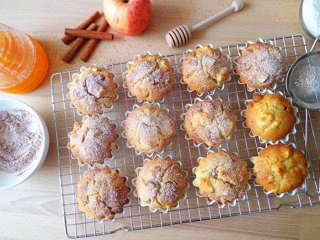 Jabłkowe babeczki z ricottą i rodzynkami (Muffin di mele con ricotta e uvetta)