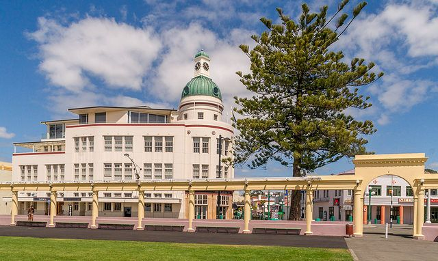Art Deco Architecture Hawkes bay New Zealand