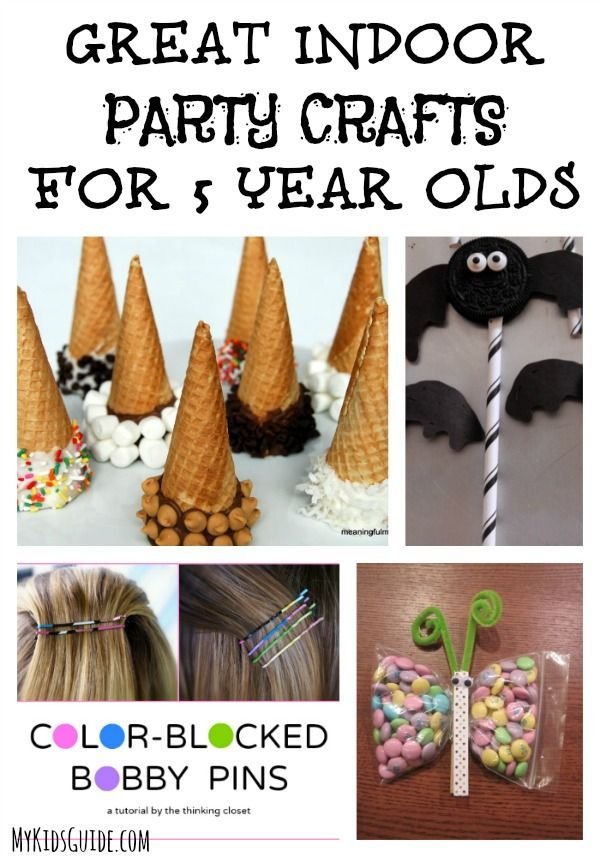 Great Indoor Party Crafts For 5 Year Olds – #Craft…