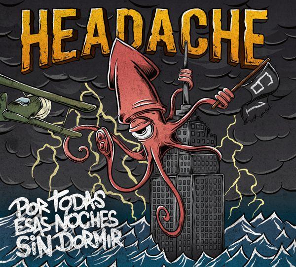 Headache 61 album cover on Behance