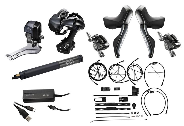 Shimano Ultegra Di2 6870+ST-R785 Hydraulic Electric-Kit GS-Variant int/int | Gearshift Groups Shop