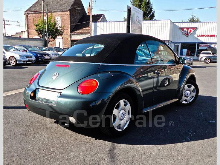 VOLKSWAGEN NEW BEETLE CONVERTIBLE 2.0 CARAT 2004 Essence occasion - Fenain…