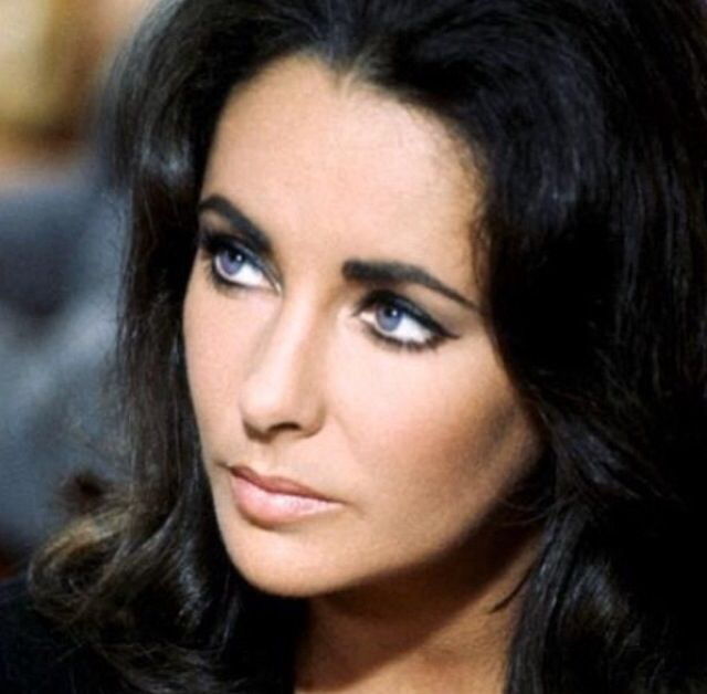 Elizabeth Taylor's eyes. | Some things | Pinterest ...