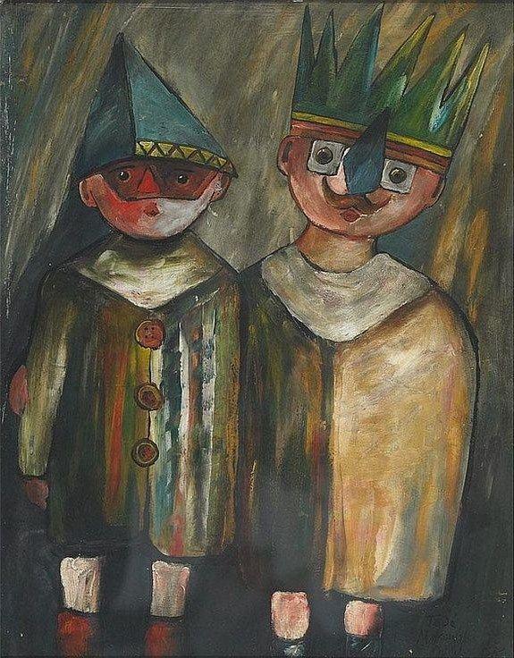Tadeusz Makowski (Polish 1882 – 1932) Tadeusz Makowski, Polish 1882-1932