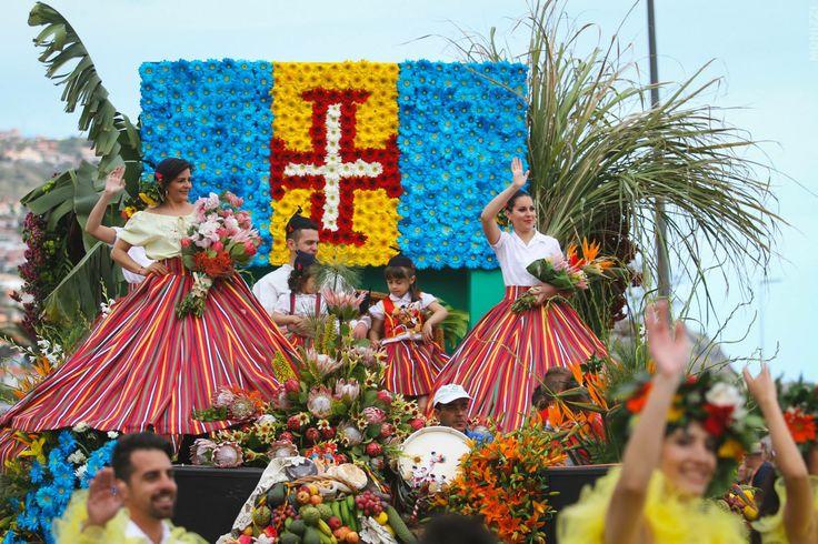 Festa da Flor, Flower Festival, Funchal, Madeira, Portugal