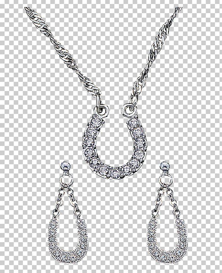 Earring Necklace Jewellery Silversmith Horseshoe Png Earring Necklace Necklace Jewelry Necklaces