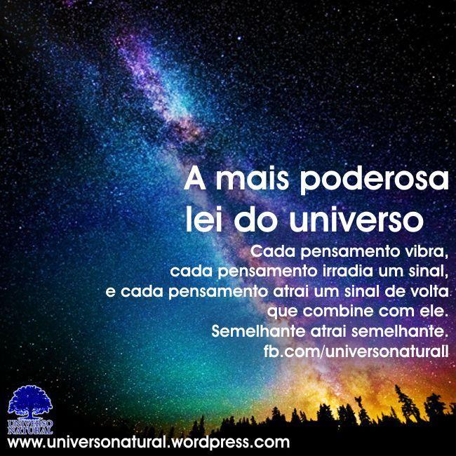 Universo Natural Entenda que é onde você põe a sua atenção que vai determinar como o Universo se manifestará em sua vida #universonatural  #mergulhointerior  #limpezaenergetica