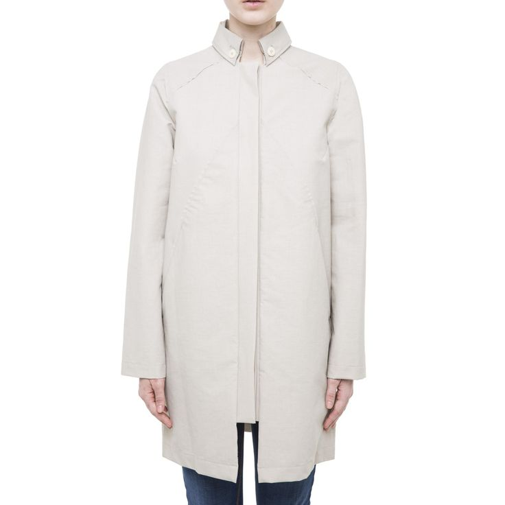 Cream Modern Trench Coat from Pret pour partir